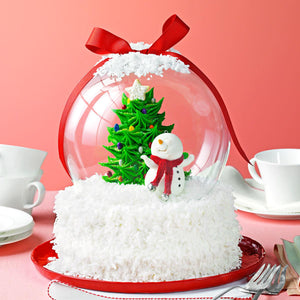Kids & Adult Cake Decorating Class - Snow Globe Cake