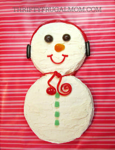 Family / Kids Cake Decorating Class - Snowman Cake