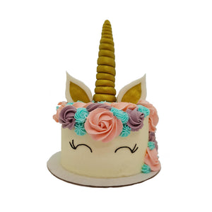 Unicorn Buttercream Cake