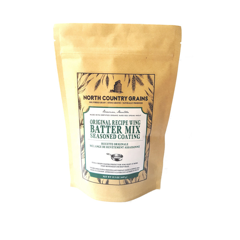 North Country Grains Wing Batter