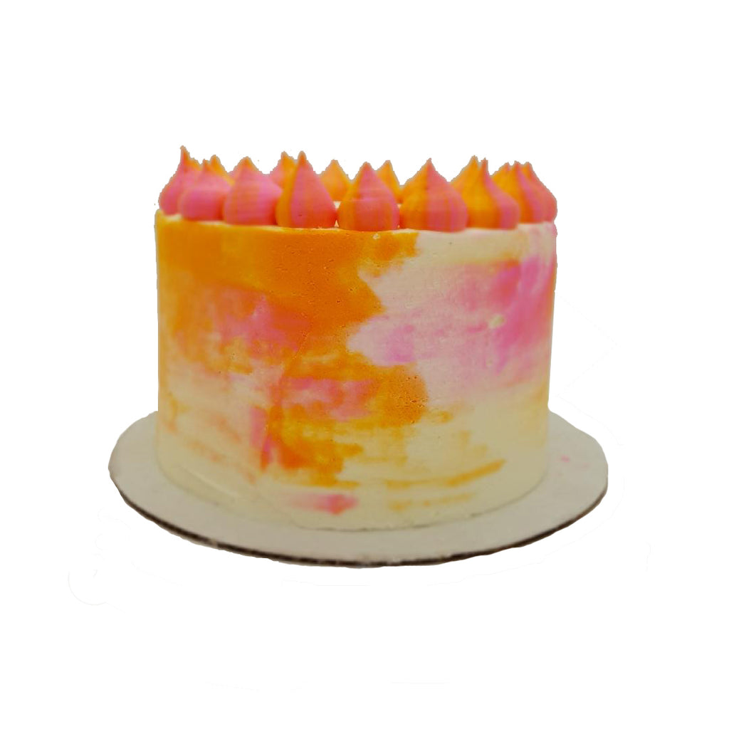 Watercolor Buttercream Cake