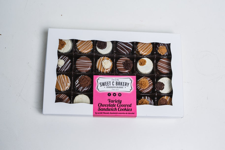 Mini Chocolate Covered Oreo - Variety Chocolate Pack (24)
