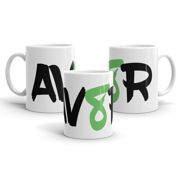 AV8R Green Mug - The perfect gift for the aviator in your life