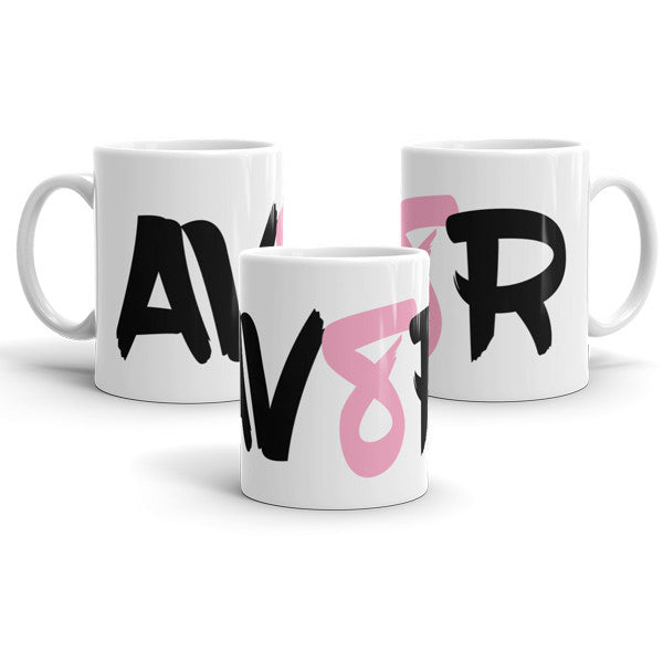 AV8R Pink Mug is a fantastic gift for the pilot in your life