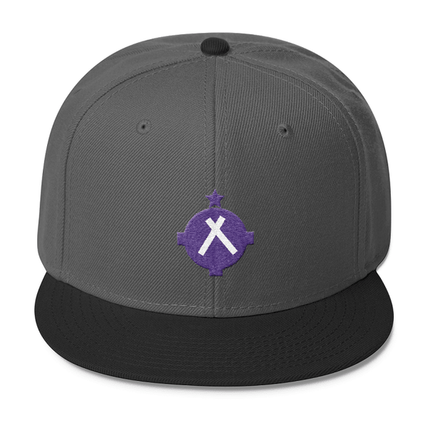 Aviation Hat - VFR Symbol Snapback Hat - Gray/Black