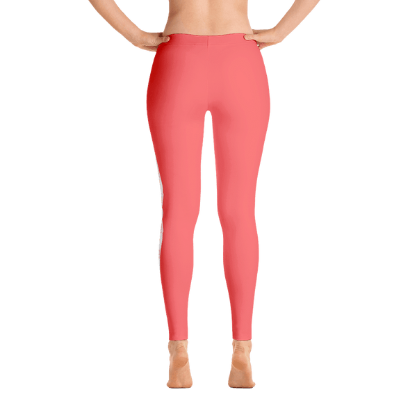I love these tropical pink aviation leggings.