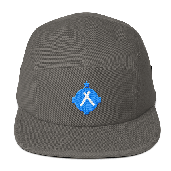 This camper style hat is the perfect fit for every pilot. With a VFR airport symbol on the front every other pilot will be checking you out.