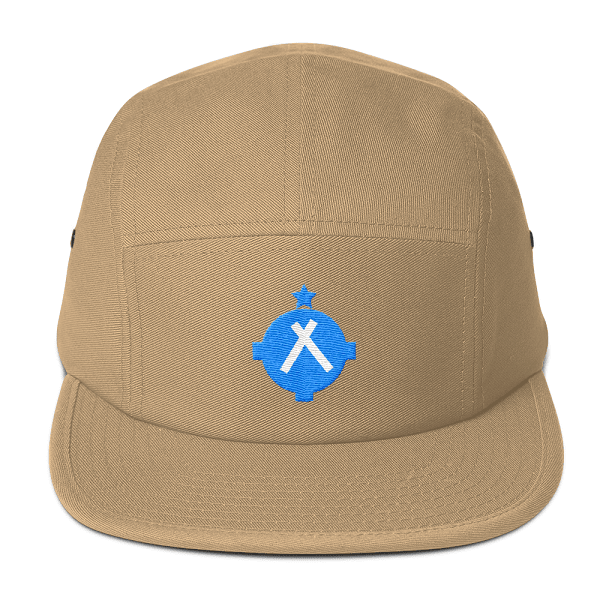 This tan camper style hat is the perfect hat for every high flying pilot.
