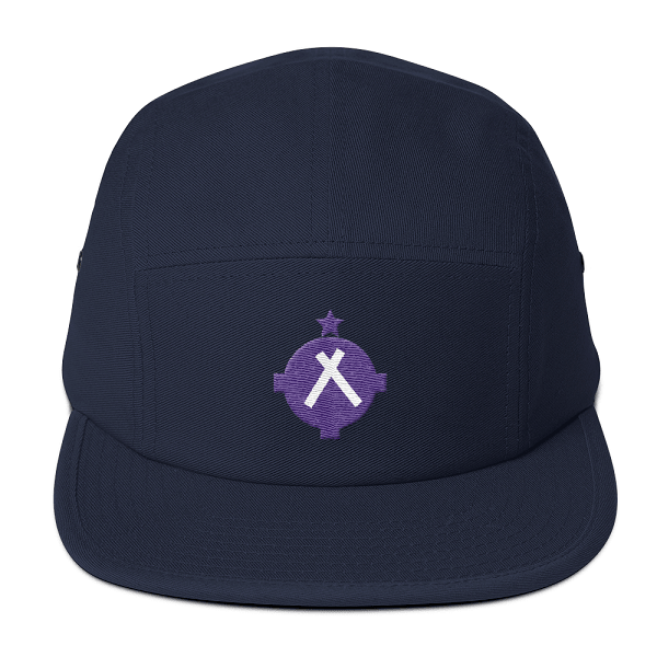 This navy camper style hat is the perfect gift for the high flying pilot in your life.