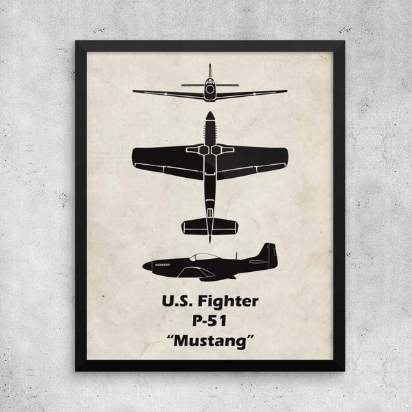 I love this P-51 Mustang Poster