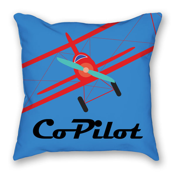 This co-pilot pillow is part of the perfect pillow set for pillots.