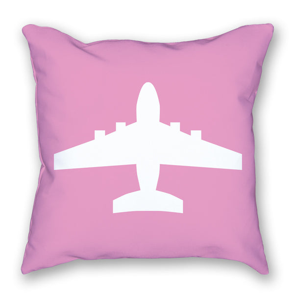 Pillow - Jumbo Jet Bright Airplane Pillow