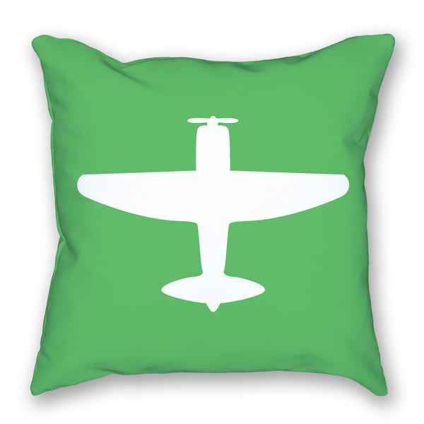 Pillow - P-47 Bright Airplane Pillow