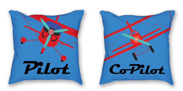 Pillow - Pilot Pillow. I love this pillow set. This would look perfect on our bed.