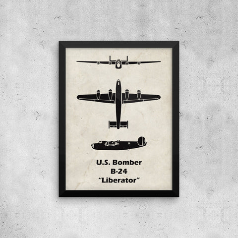 This WWII Airplane poster is a great gift for the pilot who loves aviation