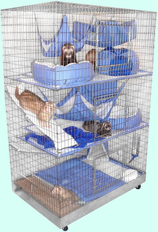 3 Level Ferret Cage Package - CraftyCreatures