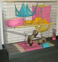 2 Level Ferret Cage Package - Cages - For Ferrets Only - 1