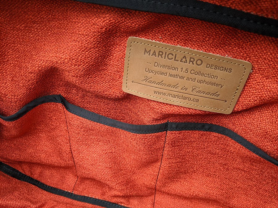 Mariclaro Leather Duffle Bag (3)