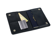 Mariclaro Passport Holder - Alaska Airlines Boeing 737 Navy Blue