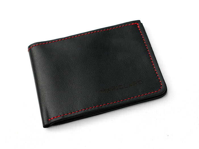 Mariclaro Billfold - Air Canada 777HD / Red Stitch