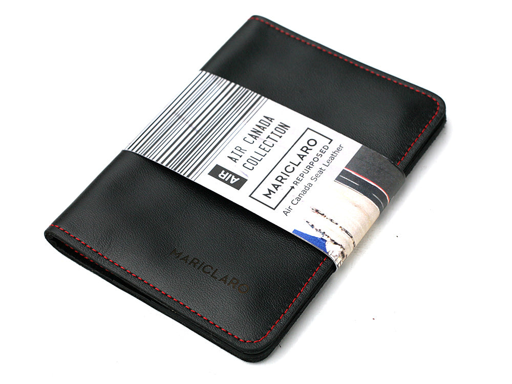Mariclaro Passport Holder - Air Canada 777HD / Red Stitch