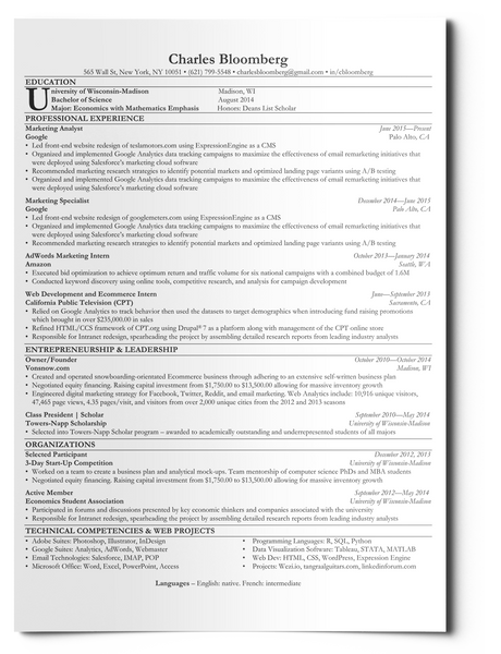 resume templates that give you confidence - Ats Resume