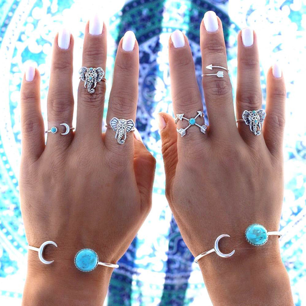 Tribal Ring Set 1