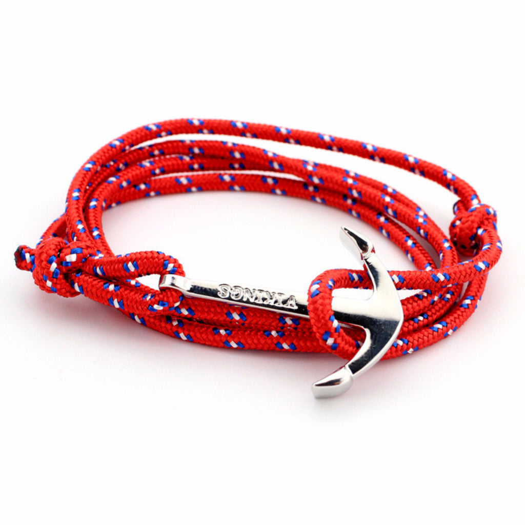 Anchor Paracord Rope Bracelet