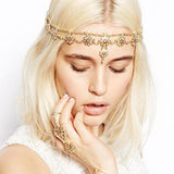 Copy of Antique Silver-tone Head Band Head Chain