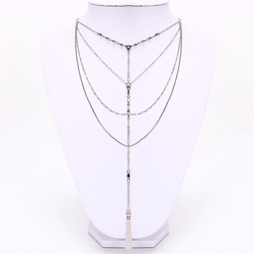 Waterfall Layered Necklace