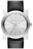 Michael Kors Women's Kempton Sunray Dial Black Patent Leather Strap Watch 39mm MK2483