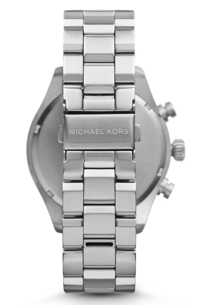Michael Kors Men's Hangar Chronograph SS Bracelet Watch 45mm MK7066