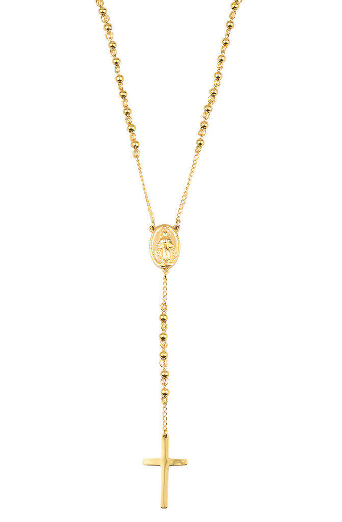 *Mister Rosary Necklace - Gold - Mister SFC - 1