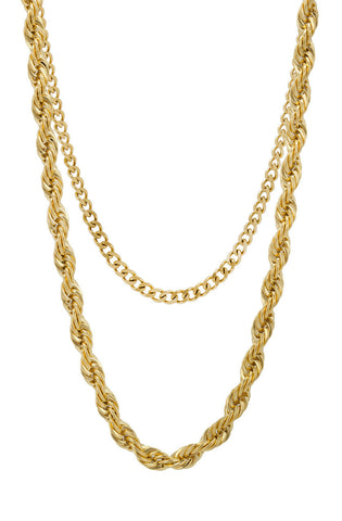 Mister Rope Necklace  - Gold - Mister SFC - 1