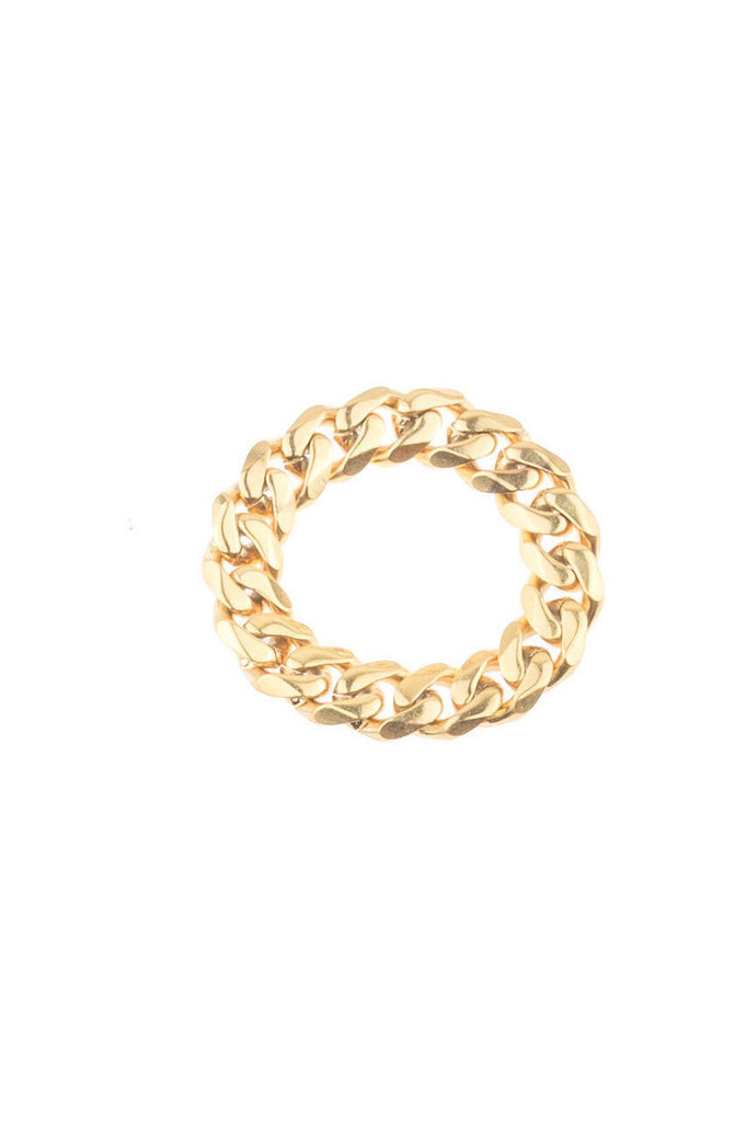 Mister Facet Curb Ring - Gold - Mister SFC - 1