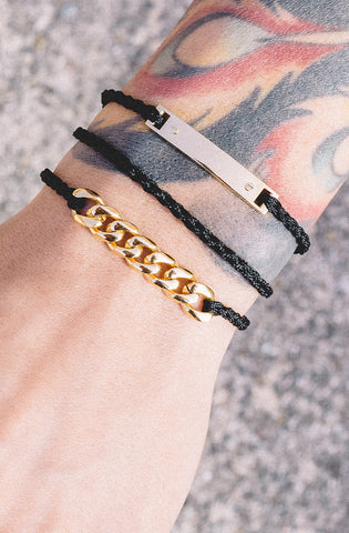 Mister Essential Plus Bracelet - Black & Gold - Mister SFC - 2