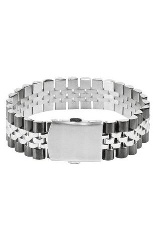 Mister Band Bracelet - Chrome & Black - Mister SFC - 1