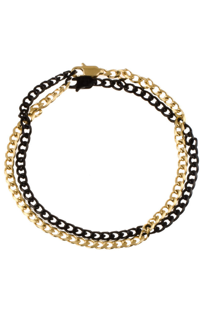 Mister Nexus Bracelet - Gold & Black - Mister SFC