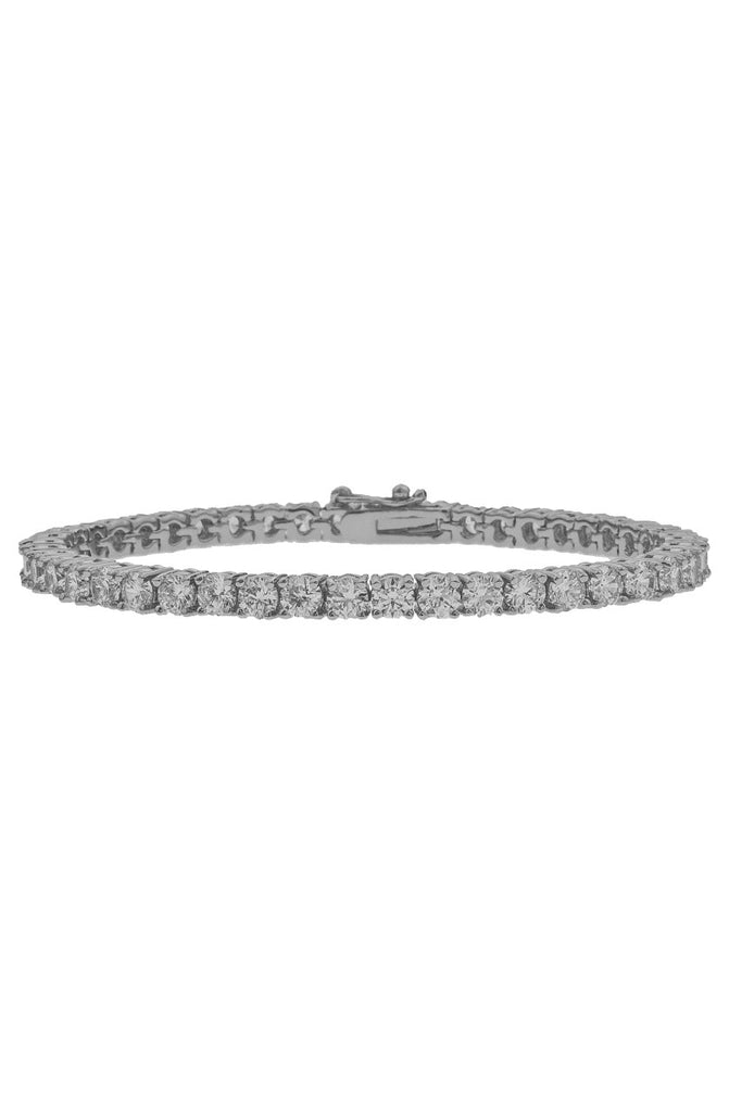Mister  Crystal Bracelet - Chrome