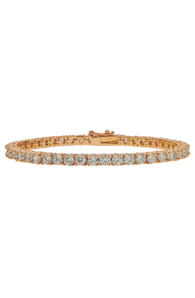 Mister  Crystal Bracelet - Rose Gold