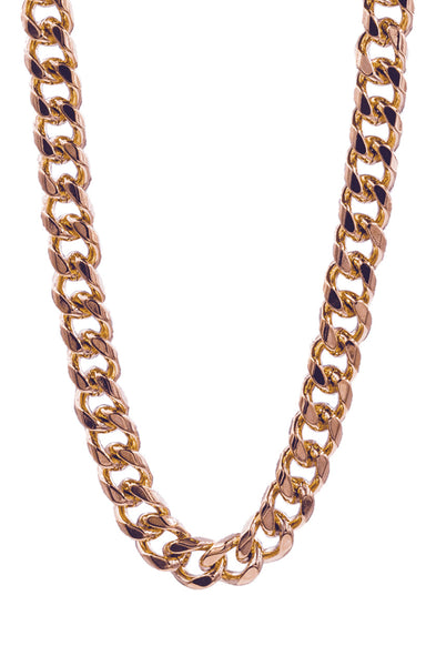 Mister Curve Curb Chain - Rose Gold