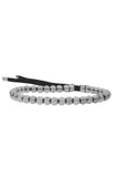 Mister Grand Bead Bracelet - Chrome