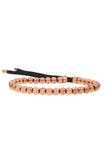 Mister Grand Bead Bracelet - Rose Gold