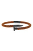 Image of Mister Nail Leather Bracelet - Caramel