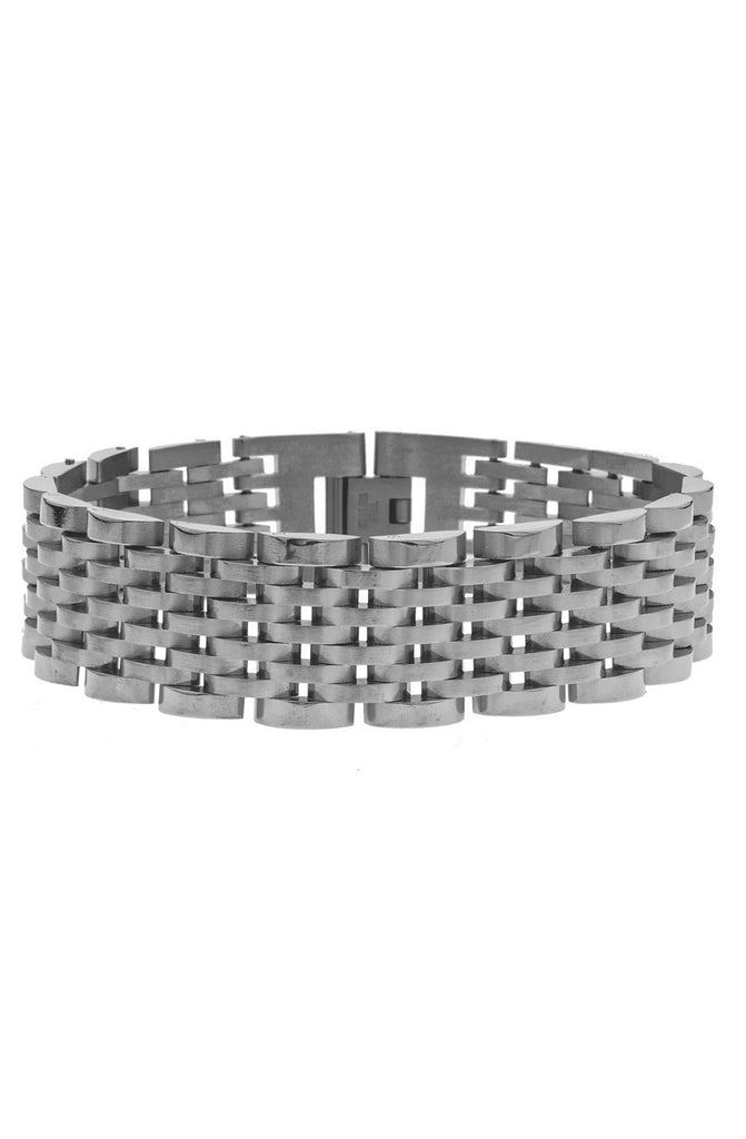 Mister Prestige Bracelet - Chrome-ACCESSORIES,FOR HER-Mister SFC