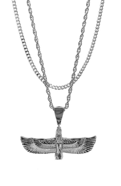 Mister  Riri Necklace - Chrome