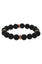 Mister Royal Plus Bead Bracelet - Onyx & Rose Gold