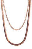 Mister Serpentine Chain - Rose Gold