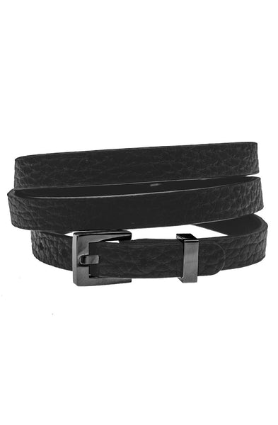 Mister Theory Leather Bracelet V3 - Black-ACCESSORIES,FOR HER-Mister SFC
