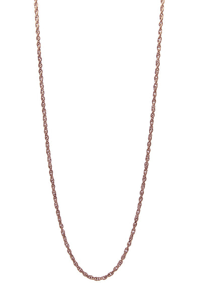 Mister Micro Rope Chain - Rose Gold - Mister SFC